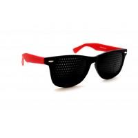 Перфорационные очки тренажеры (цветные дужки)