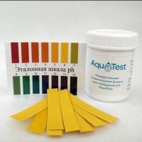 Универсальная индикаторная бумага pH AguTest.