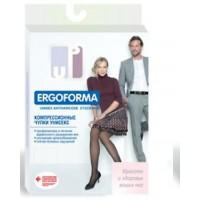 Чулки компрессионные унисекс с закрытым носком Ergoforma 2 класс компр. (23-32 мм рт.ст) EU 224