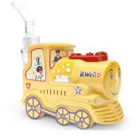Детский компрессорный ингалятор небулайзер «Паровозик» B-well PRO-115