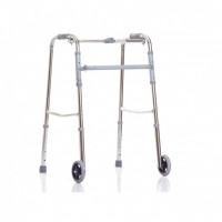 """Ходунки двухколесные XR 204 """"Ortonica"""" (шагающие), (R Wheel)цвет бронза."""