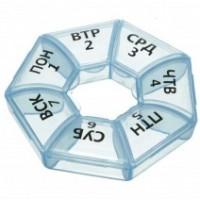 Таблетница контейнер для таблеток Неделька, 223