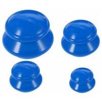 Банки массажные Эко-3 (синие) 4 шт