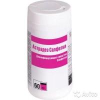 Астродез Салфетки 60 шт- дезинфицирующее средство (кожный антисептик)