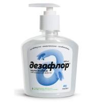 Антибактериальное мыло Дезафлор 0,40л.