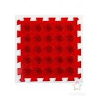 Массажный коврик-  Жесткий Кактус, цвет красный.